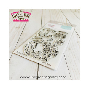 LIFT COUPLE-The Greeting Farm Clear Photopolymer Stamp-Stamping Craft-Anya &Ian