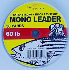 NEW RIO PRODUCTS SALTWATER MONO 50LB 50YD SPOOL fly fishing leader material