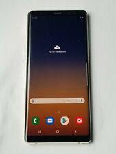 Samsung Galaxy Note 8 N950F/DS -DualSim -GSM Unlocked-64GB-Gold-ScreenBurn #Jn89