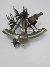 Vintage Marine Sextant~Nautical Maritime Navigation Working Brass Sextant Decor.