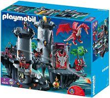 RARE - Playmobil 4835 - Citadelle du Dragon Rouge