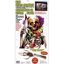 Effrayant Halloween carnaval Evil CIRQUE CLOWN vinyle vitre voiture sticker