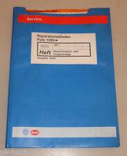 Werkstatthandbuch VW Polo 6N Diesel Einspritz- und Vorglühanlage Stand 10/1995