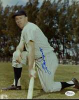 Gil Mcdougald Yankees Jsa Cert Sticker Signed 8x10 Photo Authentic Autograph