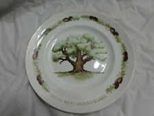 "Vintage Fifth Avon Anniversary ""The Great Oak"" Wedgwood For Avon Sales Dealers"