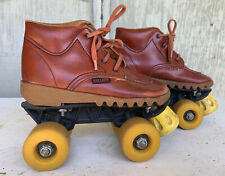 RARE VintageDR.MARTIN Style Sole Childs Roller Skates Size 1