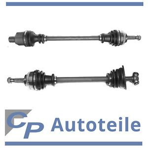 2x Drive Shaft Front Left Right Renault clio II Kangoo ABS Ring Front Axle