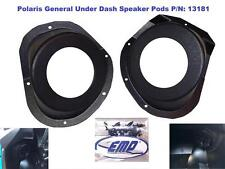 Polaris General Under-Dash Speaker Pods (Speakers Not Included) P/N 13181 No Spe