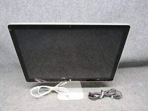 """Apple A1267 24"""" Widescreen LED Cinema Display LCD Monitor 1920x1200 *Working*"""