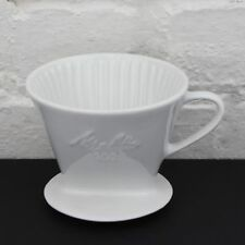Melitta Porcelain Pour-Over Filter Coffee Maker