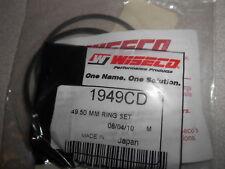 NOS Wiseco Piston Ring Set 49.50mm Honda CR80R Suzuki RM80 Yamaha YZ80 1949CD