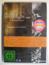 THE TWILIGHT SAGA SOUNDTRACKS - CONCERT HOT SPOT DVD SAMPLER - DVD - OVP