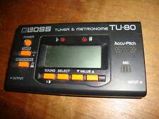 Boss TU80 TU-80 Guitar Tuner & Metronome