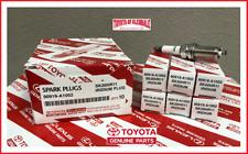 2010-2013 TOYOTA 4RUNNER, FJ CRUISER SPARK PLUGS SET OF 6 GENUINE OE 90919-A1002