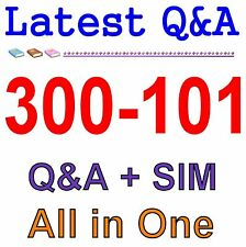 Cisco Best Practice Material For 300-101 Exam Q&A PDF+SIM
