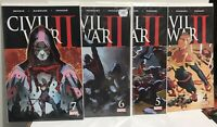 Civil War II comics #4, 5, 6, 7, Iron Man,Captain Marvel,Spider-Man,Capt America