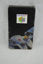 """NINTENDO N64 / VHS Cassette vidéo N64 """"catalogue officiel 98"""" [ Pal FR ]"""