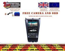 12.1 Tesla DVD GPS Navi Bt Android 6.0 Radio DAB Honda Accord 7 GEN 2003-07 1270