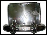 Vespa Rear Bumper Number Plate Holder Vbb Super Sprint 150 125 PX P Star Stella