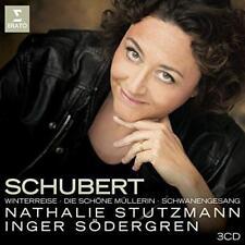Nathalie Stutzmann - Schubert: Die Schöne Müllerin, Winterreise, Schwa (NEW 3CD)