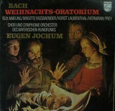 Bach Weihnachts Oratorium Eugen Jochum Ameling Fassbaender Prey 6703037 LP126