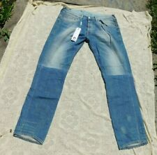 NEW WITH TAGS BLUE BLOOD MEN'S JEANS REFOCUS WITH ROYAL LIMBER WASH 36 W 34 L