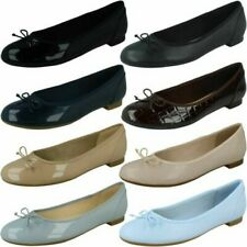 "Ladies Clarks Ballerina Style Flats ""Couture Bloom"""
