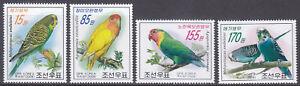 Korea (N) - 2008 - MNH - (5295-5298) Birds