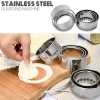 Stainless Steel Dough Press Maker Dumpling Pie Ravioli Making Mold Kitchen