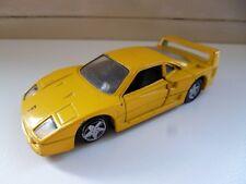 Ferrari F40 - Yellow - 1/39 - Maisto Shell - China
