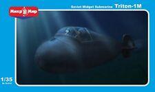 Triton 1-M Soviet Midget Submarine , 1/35 Micro-Mir 35-014