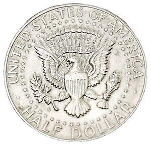 USA 1964D Kennedy Silver HALF Dollar Silver.900 Perfect Coin