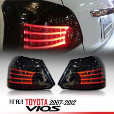 LED Tail light Lamp Smoke Len For Toyota vios Yaris Belta 08 09 10 11 12 Sedan
