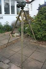 Ross London Gun Sight WW2 British Royal Navy Army Tank Telescope Tripod Vintage