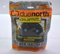 Due North All Purpose Ice & Snow Traction Aid Shoe Strap Attach Large