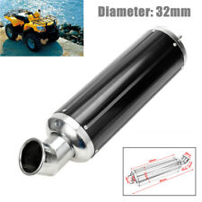 32MM Elbow ATV Off-road Motorcycle Exhaust Silencer Pipe Muffler Slip On Killer