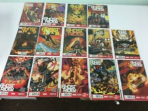 ALL NEW GHOST RIDER #1-12 1st Robbie Reyes FULL RUN  (NM Marvel Comics 2014)
