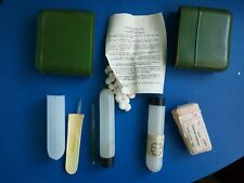 Antichemical kit  Decontamination Romania cold war Army