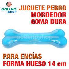 JUGUETE MORDEDOR PERRO FORMA HUESO GOMA DURA ENCÍAS RESISTENTE 14 cm L144 2986