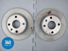 NUOVO Originale Vauxhall Opel Corsa C Tigra B Disco Freno Posteriore Set 9196592