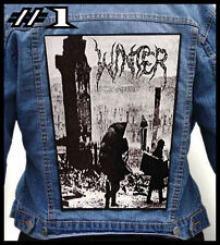 WINTER  --- Huge Jacket Back Patch Backpatch --- Various Designs