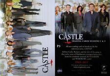 CASLTE P3 PROMO Comic-Con SDCC 2012 Exclusive Castle Trading Card MINT