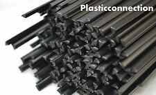 LDPE Plastik schweißdrähte (3mm) schwarz, Pack 32 pcs / dreieckig Form