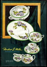 HERBERT S. MILES CHINA CO DINERWARE CATALOG  34 PAGES