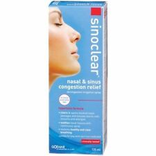SINOCLEAR NASAL & SINUS CONGESTION RELIEF DECONGESTANT IRRIGATION SPRAY 135ML
