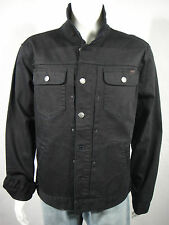 NWT LRG Core Collection Mens Denim Trucker Jacket  Black Size XL