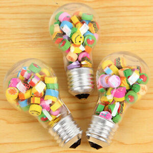 12pcs Clear Fillable Plastic Light Bulbs Wedding Favors Baby Shower Holder Gifts