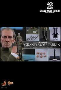 Hot Toys MMS433 Star Wars A New Hope Grand Moff Tarkin 1/6 scale figure