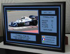 "Tyrell P34B F1 Tribute Ferrari Framed Canvas Print ""Great Gift"""