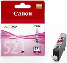 Genuine Canon CLI-521M Magenta Ink Cartridge Pixma MP550 MP560 MP630